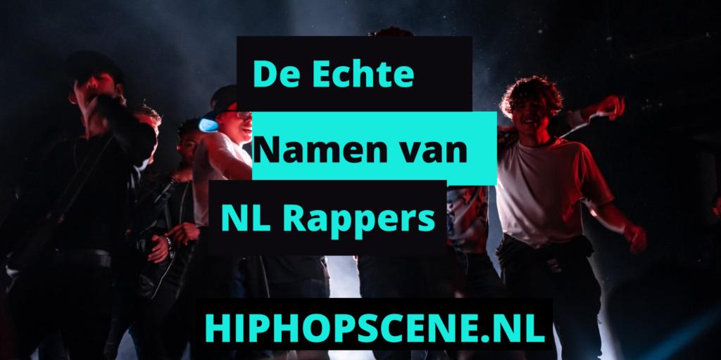 Lijst met echte namen van Nederlandse rappers